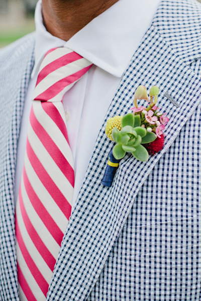 southern-wedding-succulent-boutonniere